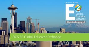 Microsoft Educator Exchange 2015