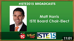 LIVE: An Interview with ISTE Board Chair-Elect Matt Harris, Ed.D.