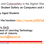 Parenting in the Digital World –  Secondary School – 2015 British School of Jakarta