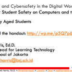 Parenting in the Digital World –  Primary School – 2015 British School of Jakarta