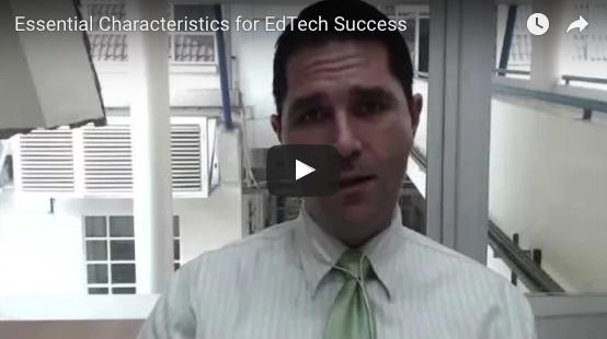 Essential Characteristics of EdTech Success
