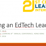Protected: Being an EdTech Leader – 2016 21st Century Learning Conference Hong Kong