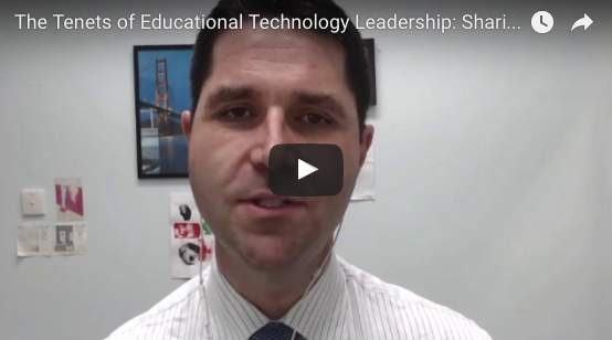 The Tenets of Educational Technology Leadership - SHARING