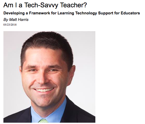 Am I a Tech-Savvy Teacher - TIEOnline