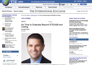 It's Time to Graduate Beyond STEM and Coding - TIEOnline