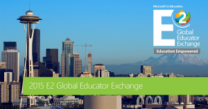 Microsoft Educator Exchange 2015