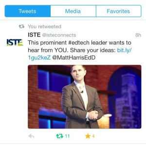Incoming ISTE Board chair is building connections around the globe
