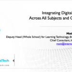 Integrating Digital Citizenship Across All Subjects and Grade Levels – 21CLHK 2018