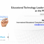 Educational Technology Leadership Training at the Ministry Level - GESS Indonesia 2018