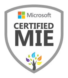 Certified Microsoft Innovative Educator