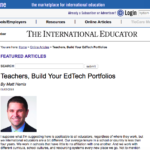 Teachers, Build Your EdTech Portfolios – TIEOnline