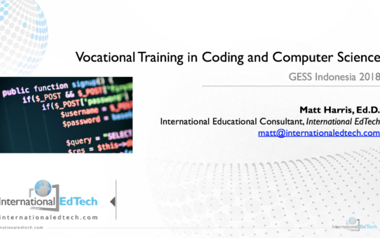 Vocational Training in Coding and Computer Science – GESS Indonesia 2018