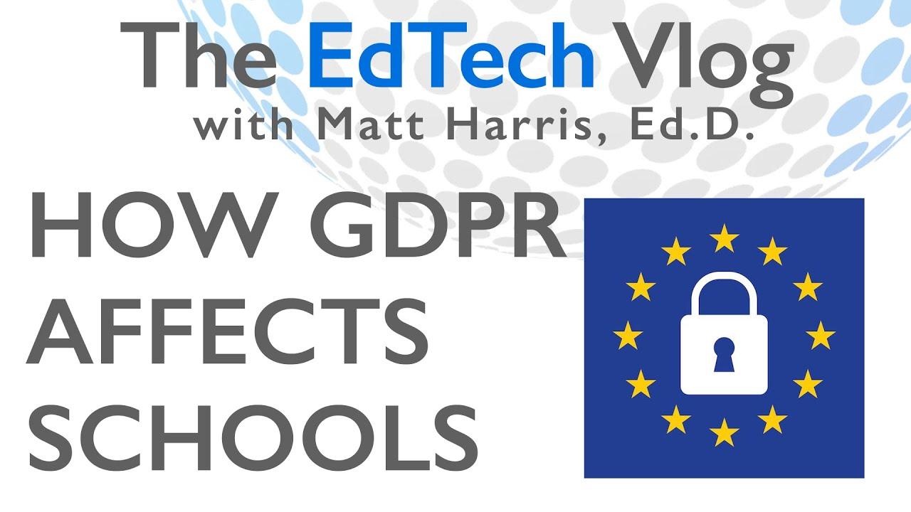 How GDPR Impacts Schools