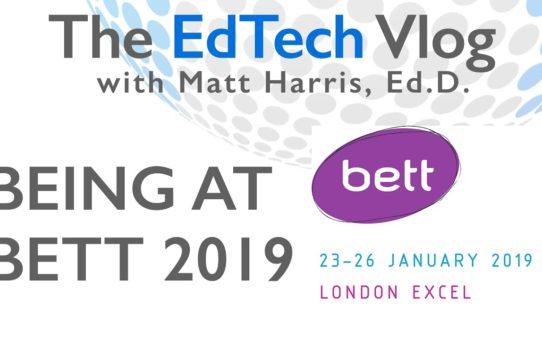 Being at BETT 2019