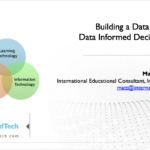Building a Data Ecology for Data Informed Decision Making – 21CLHK 2019