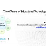 The 6 Tenets of Educational Technology Leadership – BETT MEA 2019
