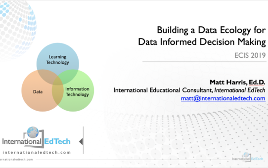 Building a Data Ecology for Data Informed Decision Making – ECIS 2019