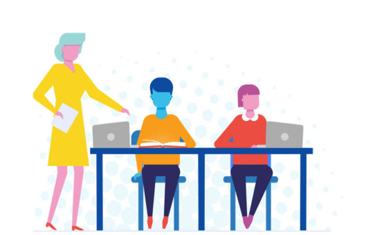 Teaching from the Back of the Room: How to Work in a Tech Rich Classroom