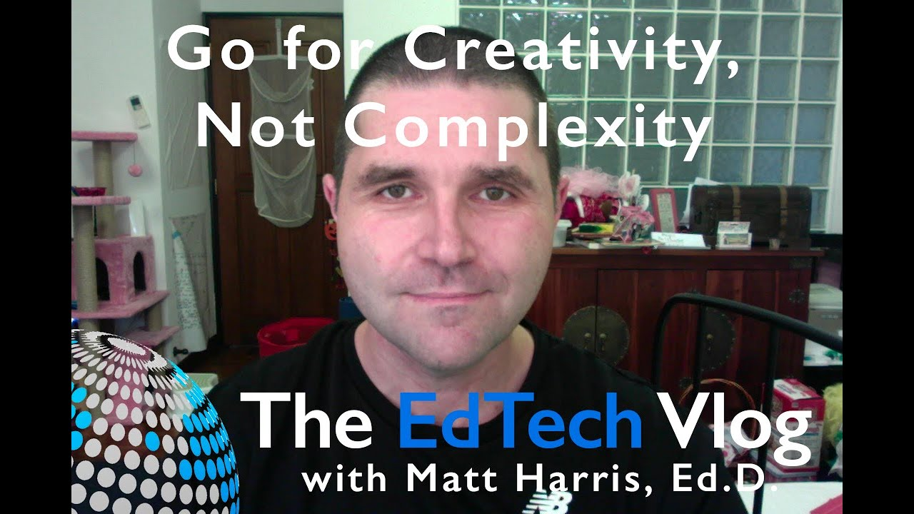 Go for Creativity, Not Complexity